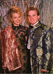 LORD & LADY DALMENY at a ball in London on 21st May 1998.MHW 7