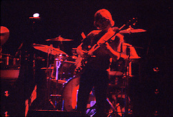 Phil Lesh. The Grateful Dead performing Live at the Hartford Civic Center on 28 May 1977