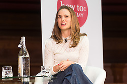 © Licensed to London News Pictures. 27/09/2018. London, UK. Actress Natalie Portman and writer Yuval Noah Harari part in an How To Academy event at Central Hall Westminster. Photo credit: Ray Tang/LNP<br /> *EXCLUSIVE RATES*