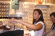 Alesha Dixon of Misteeq. H&M Flagship Store launch. at 17-21 Brompton Road, Knightsbridge. London. SW1. 23  March 2005. ONE TIME USE ONLY - DO NOT ARCHIVE  © Copyright Photograph by Dafydd Jones 66 Stockwell Park Rd. London SW9 0DA Tel 020 7733 0108 www.dafjones.com