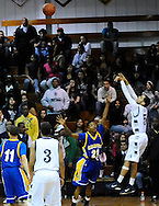 Lorain defeated Clearview on a last-second 3-point goal on February 12, 2011 in a boys varsity basketball game. These images are from the final 10 seconds of the game when the teams traded 3-point baskets.