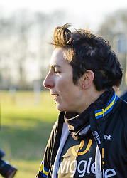 Giorgia Bronzini in the afternoon sun following her win at Drentse 8.