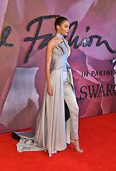Gigi Hadid attending The Fashion Awards 2016 at the Royal Albert Hall, London.