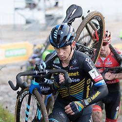 11-10-2020: Wielrennen: Superprestige: Gieten <br />Lars van der Haar