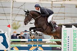 Van Den Broeck Tim, BEL, Parfait van het Schaeck<br /> BK Young Horses 2020<br /> © Hippo Foto - Sharon Vandeput<br /> 6/09/20