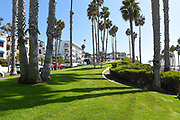 Avenida Victoria with Ocean View Apartments and Shops in Downtown San Clemente