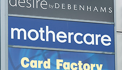 ©Licensed to London News Pictures 04/11/2019.<br /> Orpington,UK. A branch of Mothercare in Orpington, south London. Mothercare calls in the administrators, Thousands of jobs are at risk as retail giant Mothercare who have 79 stores in the UK, could make 2500 workers redundant before Christmas. Photo credit: Grant Falvey/LNP