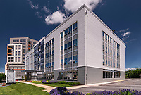 Architectural Image of the Shell Building  in Towson MD by Jeffrey Sauers of CPI Productions.com