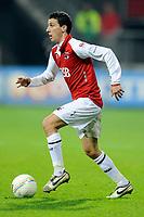 Fotball<br /> Nederland / Holland<br /> Foto: ProShots/Digitalsport<br /> NORWAY ONLY<br /> <br /> AZ - FC Groningen , 28-02-2009 , 3-0 , Maarten Martens