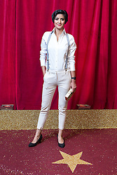 © Licensed to London News Pictures . 16/05/2015 .  The Palace Hotel , Manchester , UK . Rakhee Thakrar . The red carpet at the 2015 British Soap Awards , The Palace Hotel , Oxford Road , Manchester . Photo credit : Joel Goodman/LNP