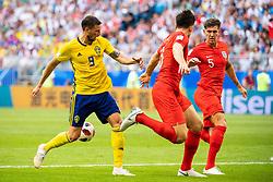 July 7, 2018 - Samara, Russia - 180707 Marcus Berg of Sweden during the FIFA World Cup quarter final match between Sweden and England on July 7, 2018 in Samara..Photo: Petter Arvidson / BILDBYRÃ…N / kod PA / 92083 (Credit Image: © Petter Arvidson/Bildbyran via ZUMA Press)