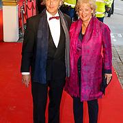 NLD/Amsterdam/20130410 - Viering 125 jaar bestaan Concertgebouw Amsterdam, Rogier van Boxtel en partner