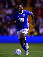 Jacques Maghoma of Birmingham city in action .EFL Skybet championship match, Birmingham city v Cardiff city at St.Andrew's stadium in Birmingham, the Midlands on Friday 13th October 2017.<br /> pic by Bradley Collyer, Andrew Orchard sports photography.