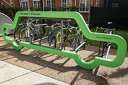 New cycle storage, London Borough of Haringey, London UK