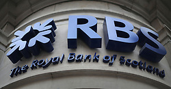 File photo dated 03/04/14 of a branch of the Royal Bank of Scotland. A High Court judge is to be given an update today on the state of settlement talks currently under way in a bid to resolve a legal action by thousands of shareholders against Royal Bank of Scotland.