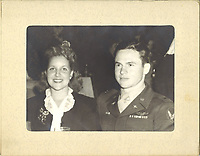 Robert H. Thorn Jr. and wife, June, visited Ciro's Nightclub on June 7, 1945 after completing 92 combat missions as a P-47 fighter pilot during WWII.