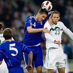 20101008: SLO, Football - EURO 2012 Qualifier, Slovenia vs Faroe Islands