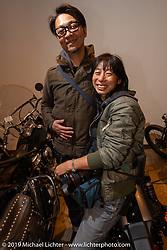 Nozomi Fujimura at the SureShot shop after a ride around Chiba, Japan. Saturday, December 8, 2018. Photography ©2018 Michael Lichter.