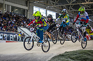 #911 (SHRIEVER Bethany) GBR at Round 2 of the 2019 UCI BMX Supercross World Cup in Manchester, Great Britain