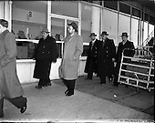 1958 - Soviet delegates arrive for the International Fisheries Convention