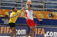 Footbal-FIFA Beach Soccer World Cup 2006 - Group D-BHR-Officall Training- Rio de Janeiro, Brazil - 01/11/2006.<br />Mandatory Credit: FIFA/Ricardo Ayres