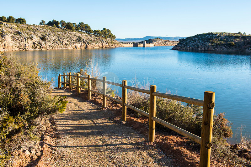 Proyecto Agua Viva. Pantano de Almansa. Albacete. España ©ANTONIO REAL HURTADO / PILAR REVILLA