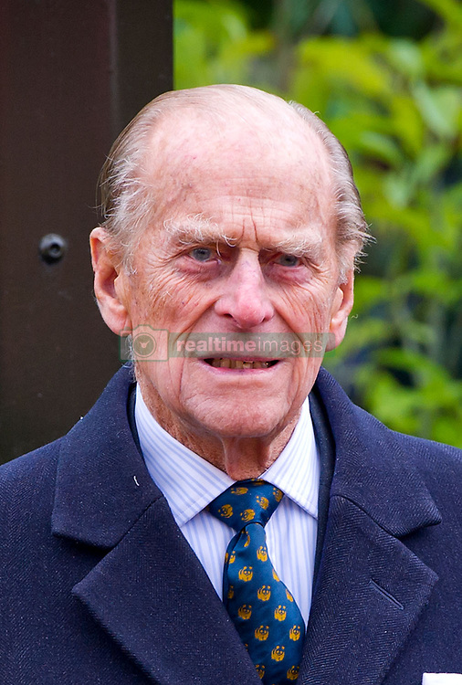 File photo of Prince Philip, the Duke of Edinburgh, pictured opening London Zoo's new Tiger Territory in 2013. Picture date: March 20th 2013. Photo credit should read: Matt Crossick/ EMPICS
