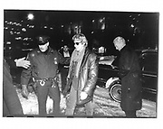 Richard Gere arriving during snow at a party in NY. 1993 approx. © Copyright Photograph by Dafydd Jones 66 Stockwell Park Rd. London SW9 0DA Tel 020 7733 0108 www.dafjones.com
