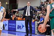 DESCRIZIONE : Eurocup 2014/15 Last32 Dinamo Banco di Sardegna Sassari -  Banvit Bandirma<br /> GIOCATORE : Zoran Lukic<br /> CATEGORIA : Allenatore Coach Mani<br /> SQUADRA : Banvit Bandirma<br /> EVENTO : Eurocup 2014/2015<br /> GARA : Dinamo Banco di Sardegna Sassari - Banvit Bandirma<br /> DATA : 11/02/2015<br /> SPORT : Pallacanestro <br /> AUTORE : Agenzia Ciamillo-Castoria / Luigi Canu<br /> Galleria : Eurocup 2014/2015<br /> Fotonotizia : Eurocup 2014/15 Last32 Dinamo Banco di Sardegna Sassari -  Banvit Bandirma<br /> Predefinita :