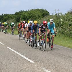 25-06-2016: Wielrennen: NK weg Profs: Ouddorp<br />OUDDORP (NED) wielrennen  <br />Koen de Kort, Lars Boom