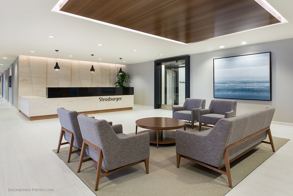 Commercial Real Estate Photography of High End Dallas Office