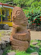 Vaitahu Village, Tahuata, Marquesas; French Polynesia; South Pacific