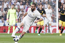 May 2, 2017 - Madrid, Spain - Daniel Carvajal (defender; Real Madrid) watched the Champions League, semifinal match between Real Madrid and Atletico de Madrid at Santiago Bernabeu Stadium on May 2, 2017 in Madrid, Spain (Credit Image: © Jack Abuin via ZUMA Wire)