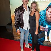 NLD/Amsterdam/20190606 - Long Shot premiere, Dee van der Zeeuw en partner Lars Gerbrands
