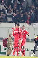 20120103: GUIMARAES, PORTUGAL - Portuguese League Cup, 3rd Stage, Round 1: VSC Guimaraes vs SL Benfica. <br /> PHOTO: CITYFILES