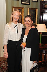 A party to promote the exclusive Puntacana Resort & Club - the Caribbean's Premier Golf & Beach Resort Destination, was held at Spencer House, London on 13th May 2010.<br /> <br /> Picture shows:- Left to right, MARTHA WARD and VASSI CHAMBERLAIN