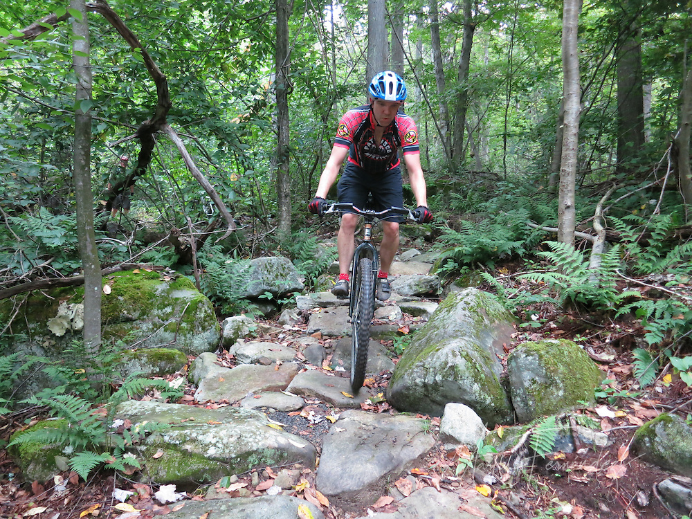 The Fork Run trails are technical and offer advanced riders a challenging playground