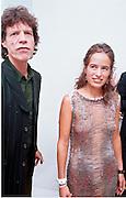 Mick & Jade Jagger, Jade Jagger party. St. Martin's Hotel, London. 20/9/99.  © Copyright Photograph by Dafydd Jones 66 Stockwell Park Rd. London SW9 0DA  Tel 0171 733 0108