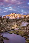 Hot Creek Geological Site, Hot Creek and Laurel Mountain, Mono County, California