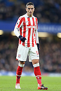 Ibrahim Afellay of Stoke City looking on. Premier league match, Chelsea v Stoke city at Stamford Bridge in London on Saturday 31st December 2016.<br /> pic by John Patrick Fletcher, Andrew Orchard sports photography.