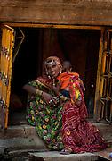 Young Mother - Jaisalmer Rajasthan India 2011