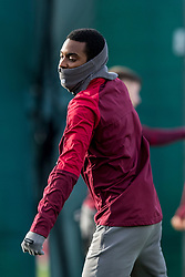 LIVERPOOL, ENGLAND - Monday, February 18, 2019: Liverpool's Rafael Camacho during a training session at Melwood ahead of the UEFA Champions League Round of 16 1st Leg match between Liverpool FC and FC Bayern München. (Pic by Paul Greenwood/Propaganda)