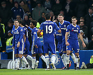 Chelsea's Gary Cahill celebrates scoring his sides opening goal during the Premier League match at Stamford Bridge Stadium, London. Picture date December 31st, 2016 Pic David Klein/Sportimage