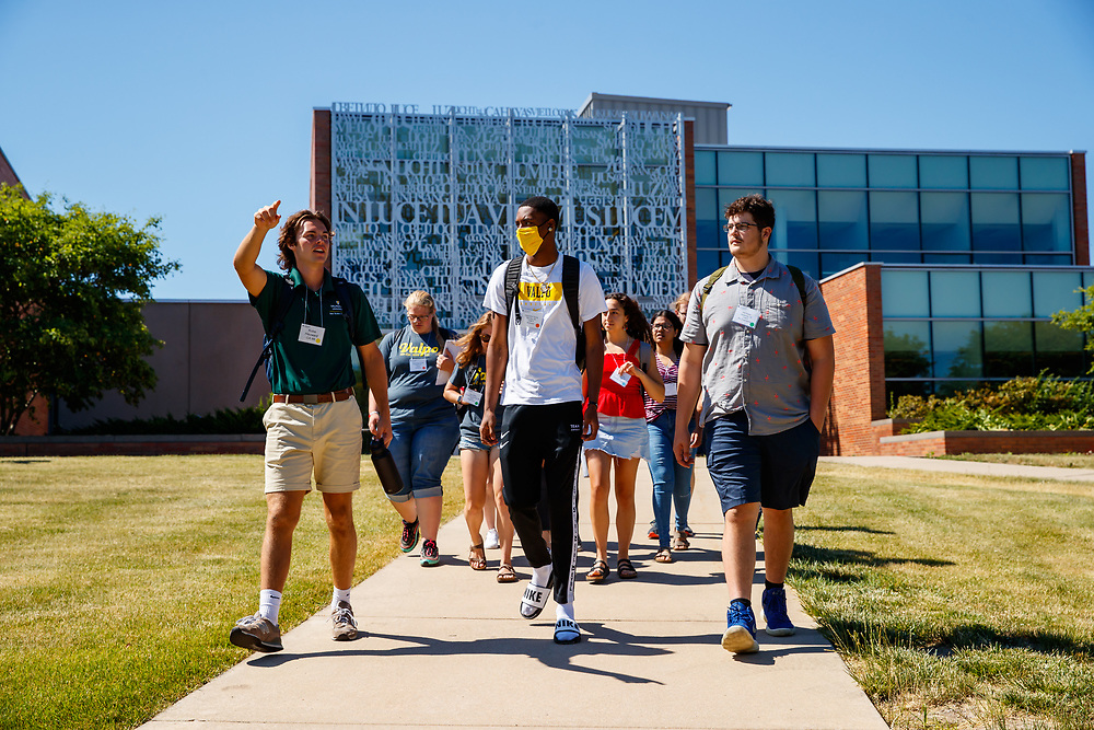 Valparaiso University holds its annual Focus orientation for incoming undergrad students in Valparaiso, Ind., Monday, June 14, 2021. Photo by Guy Rhodes