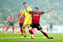 August 3, 2017 - Ljubljana, Slovenia, Slovenia - Nicolas Hofler of SC Freiburg and Lovro Bizjak of NK Domzale battle for the ball during the UEFA Europa League Third Qualifying Round match between SC Freibur and NK Domzale at Arena Stozice on 3 rd August , 2017 in Ljubljana, Slovenia. (Credit Image: © Damjan Zibert/NurPhoto via ZUMA Press)