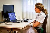 Koning brengt digitaal werkbezoek aan Isala Ziekenhuis in Zwolle