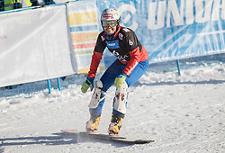Riegler Claudia during the FIS snowboarding world cup race in Rogla (SI / SLO) | GS on January 20, 2018, in Jasna Ski slope, Rogla, Slovenia. Photo by Urban Meglic / Sportida