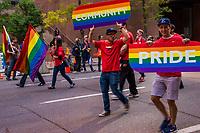 Calgary Pride Parade. September 2, 2018.