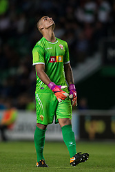 October 25, 2017 - Elche, Elche, Spain - Guille Vallejo of Elche during the Spanish Copa del Rey (King's Cup) round of 32 first leg football match between.Elche CF and Atletico de Madrid at the Martinez Valero stadium in Elche (Credit Image: © Sergio Lopez/Pacific Press via ZUMA Wire)