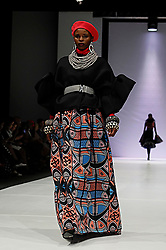 241018 2nd day of SA Fashion week took place as they were also celebrating their 21st birthday in Sandton Johannesburg South Africa.The theme on this particular show was BRICS.Designers from the BRICS member countries show cased on this day.Photo Simphiwe Mbokazi African News Agency/ANA e